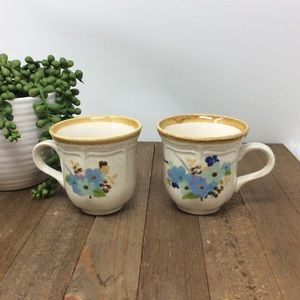 MIKASA Garden Club Blue Sonnet EC407 2 Cups